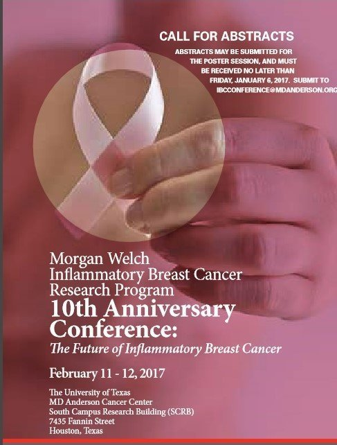 The 10th Anniversary Conference: The Future of Inflammatory Breast Cancer.