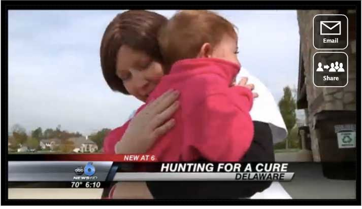 Ohio Woman Diagnosed With Breast Cancer 'Hunts' for a Cure