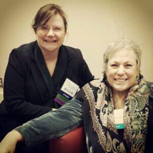 Dr Wendy Woodward & Kathy LaTour