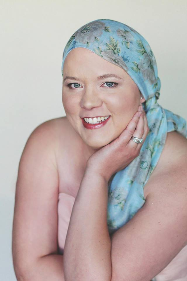 Christin, 34 years old, diagnosed with Stage 4 Inflammatory Breast Cancer.