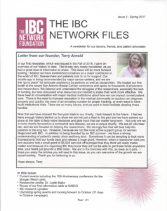 Download IBC Newsletter January 2017